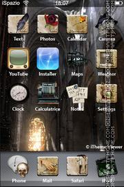 Скриншот темы Goth 01
