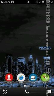 Nokia City Sherzaman es el tema de pantalla
