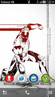 Im Robot theme screenshot