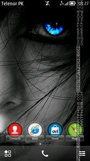 Скриншот темы Gothic Belle sherzaman