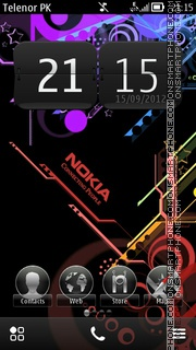 Nokia Belle sherzaman theme screenshot