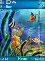 Underwater World theme screenshot