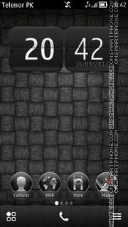 Скриншот темы Blast Black Belle