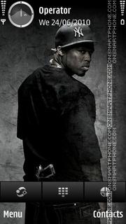 50cent Gangsta tema screenshot