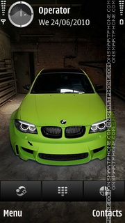 BMW M3 hd theme screenshot