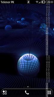 Capture d'écran Blue Belle thème