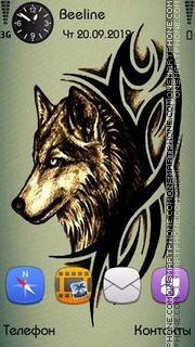 Art Wolf es el tema de pantalla