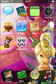 Tinker Bell 01 theme screenshot