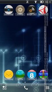 Blue Reino es el tema de pantalla