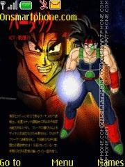 Dragon Ball Bardok theme screenshot