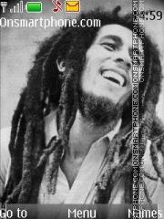 Bob Marley theme screenshot