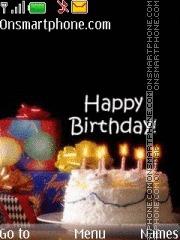 Скриншот темы Happy Birthday 06