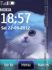 Cute Kitty 10 theme screenshot