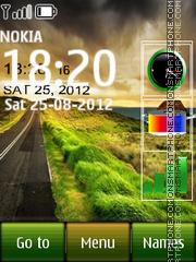 Road All In One tema screenshot