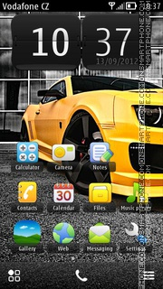 Camaro 11 theme screenshot