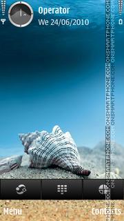 Underwater Shell theme screenshot
