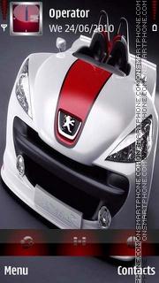 Скриншот темы Peugeot 307