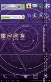 Magic Circle theme screenshot