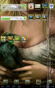 Fantasy Girl 04 tema screenshot