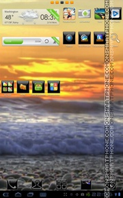 Sunset 26 theme screenshot