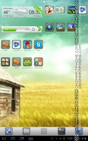 Plate Theme theme screenshot