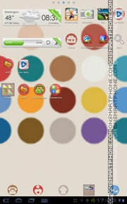 Color Dot theme screenshot