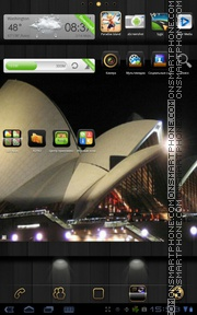 Night In Sydney theme screenshot