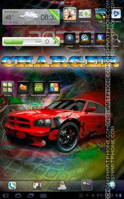 Dodge Charger Carbon theme screenshot