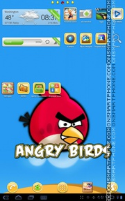 Angrybirds 01 theme screenshot