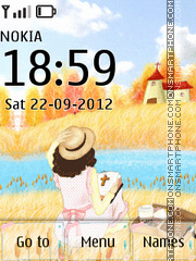 Cute Summer Theme theme screenshot