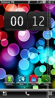 Capture d'écran Circles Belle thème