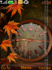 Скриншот темы Autumn