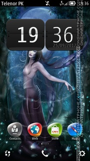 Tinker gurl theme screenshot