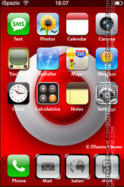 Vodafone 05 theme screenshot