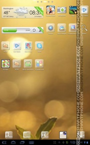 Sunshine Theme theme screenshot