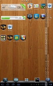 Cube Theme 01 tema screenshot
