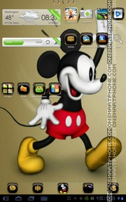 Mickey Mouse 21 theme screenshot