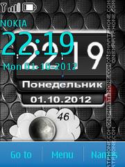 Time RS es el tema de pantalla