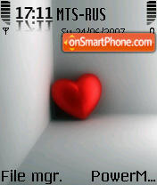 Heart 02 tema screenshot