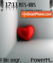 Capture d'écran Heart 02 thème