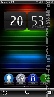Capture d'écran Reborn thème