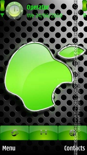Green Apple Logo theme screenshot