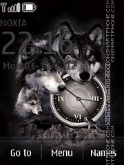 Wolves theme screenshot