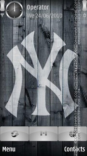 Yankees Logo es el tema de pantalla