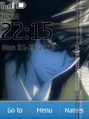 Death Note Mikami Theme-Screenshot