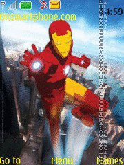 Iron Man theme screenshot