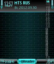 Скриншот темы Green Wall