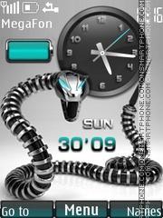 Скриншот темы Cyber Snake