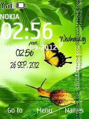 Скриншот темы Butterfly Digital