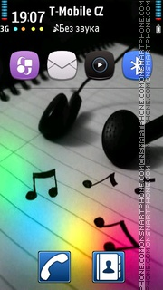 Music Mania 01 theme screenshot